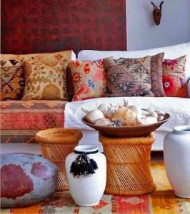 декорирование интерьера в индийском стиле