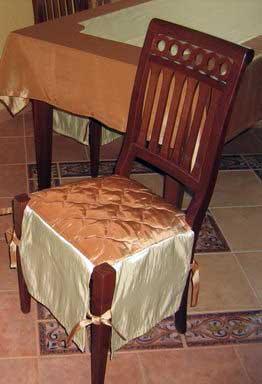 чехлы на стулья своими руками 5