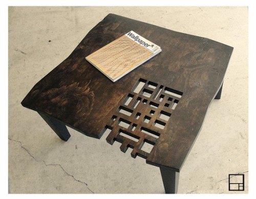 Оригинальный дизайн стола