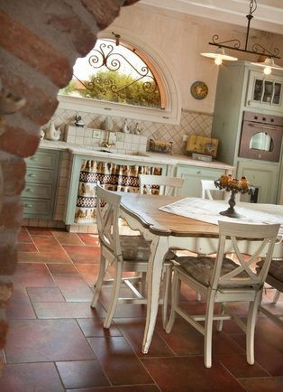 Прованс в интерьере кухни - фото идеи для вдохновения