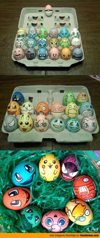 Красим с детьми яйца к пасхе