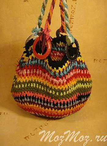 сумка из лоскутов