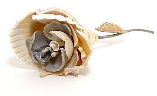 Цветок из ракушек своими руками