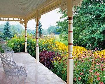 ландшафтный дизайн сада 1