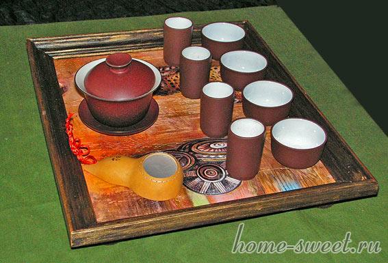 чайный поднос мастер класс