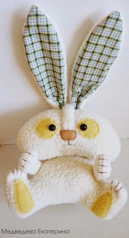Мягкая игрушка заяц 33