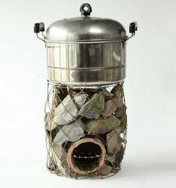 Походная мини печь