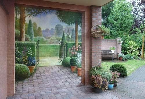Фото идеи росписи стен своими руками