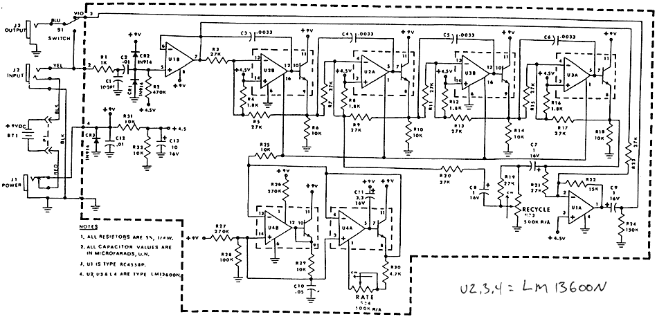 Download Mxr Phase 90 Schematic free