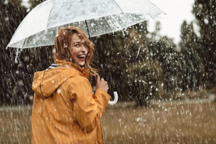 Lluvia y frizz