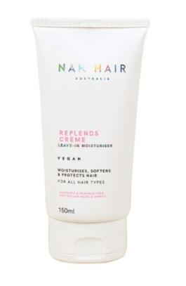NAK REPL-ENDS , lo puedes encontrar en latamhair.com. Cuesta $21990. Te deja el pelo hidratado y no necesitas enjuagar.
