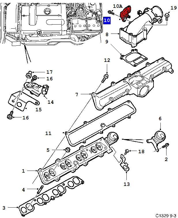 saab engine diagram 9 5 cm