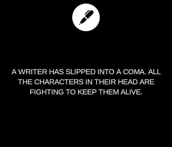 Fighting for your Author in a Coma