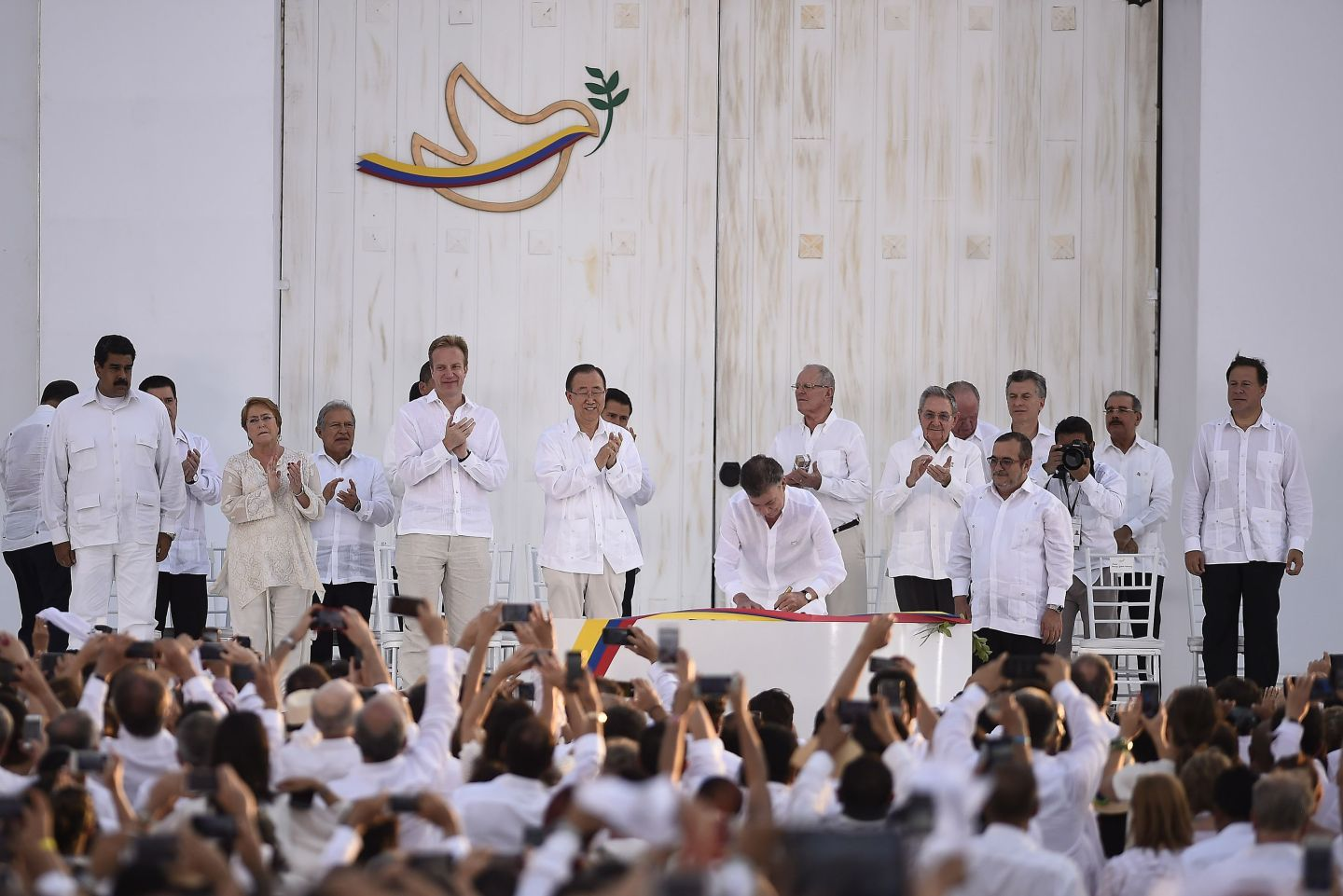 Pursuing peace: Colombia's new deal