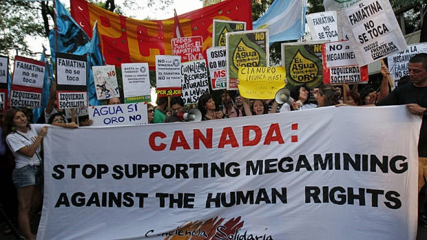 Canada's human rights abuses