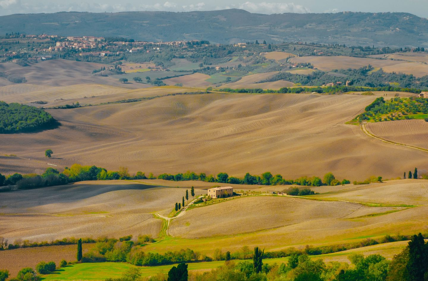 And the heat blazes from the Tuscan Valley
