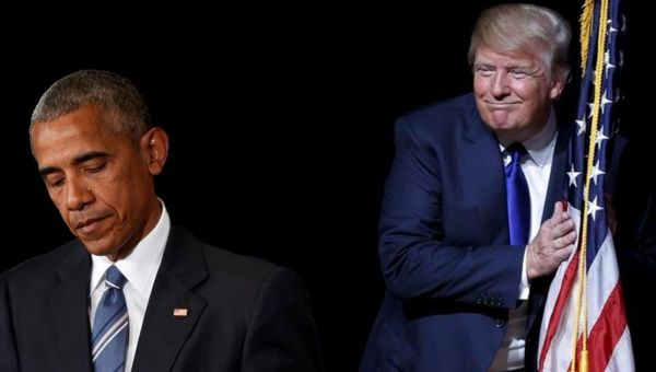 From Obama to Trump