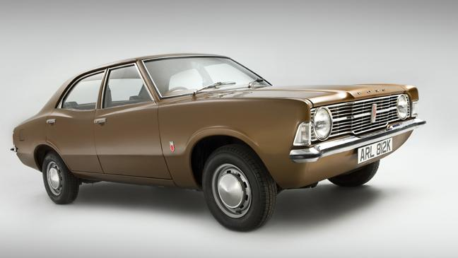 A 1971 Ford Cortina