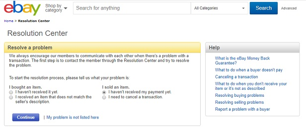 Ebay Listing Removed After Shipped