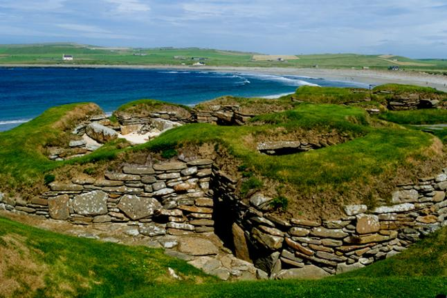 Haunted Britain Skare Brae