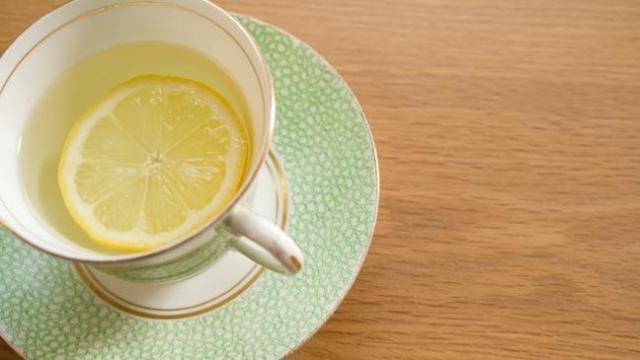 Image result for lemon in hot water