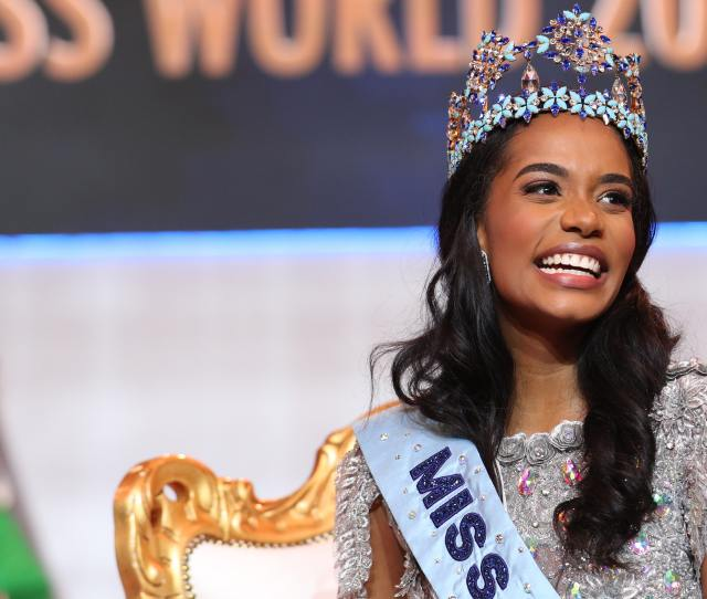 Jamaican Model Crowned Miss World  Bt