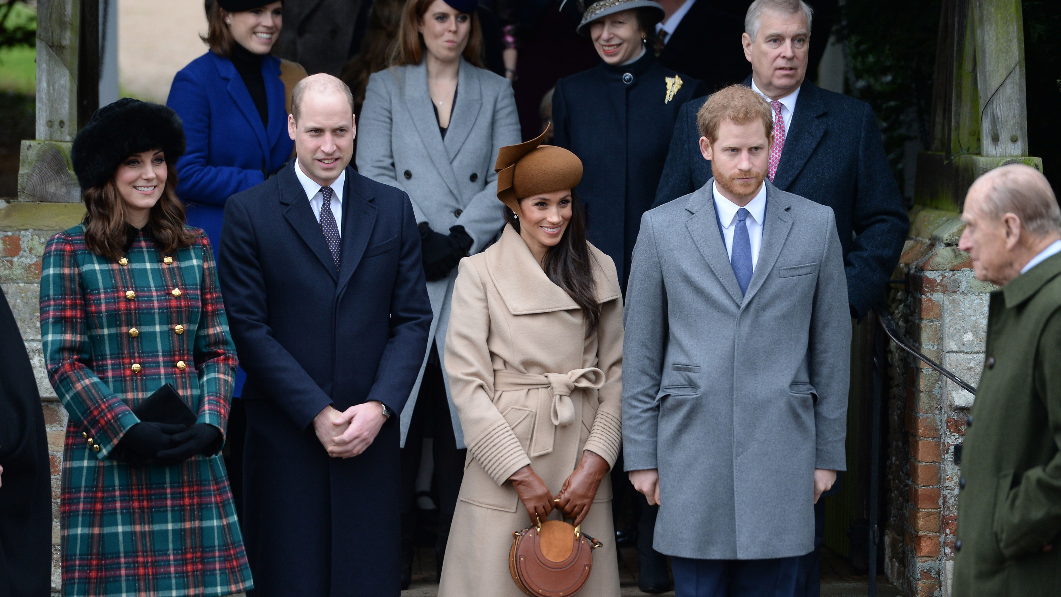 Joint Engagement For Harry, Meghan, William And Kate  Bt