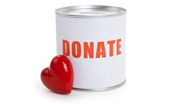 six ways to donate
