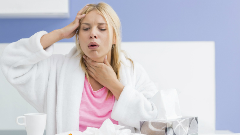 Treat Throat Infection
