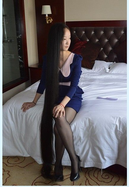 Floor Length Long Hair Attract Your Eyes ChinaLongHaircom