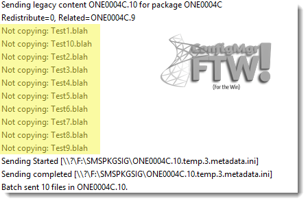 pkgxfermgr.log showing the files not being copied