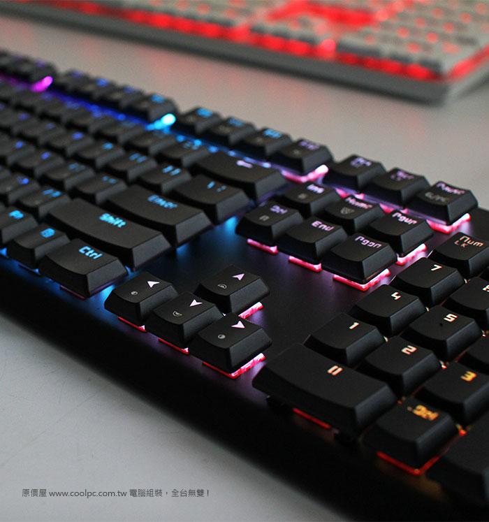 原價屋@酷!PC • 檢視主題 - 【開箱】挑戰宇宙之速!TESORO 剋龍劍 GRAM(G11SFL)機械式鍵盤!