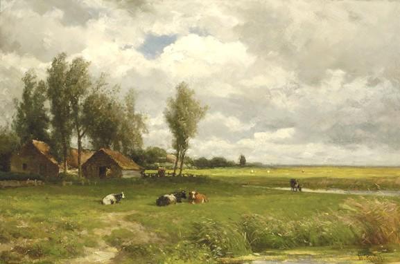 Famous Paintings Of Dutch Landscapes Vanslooten Com