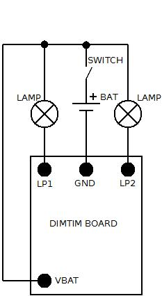 DimTim – Headlamp Soft Start