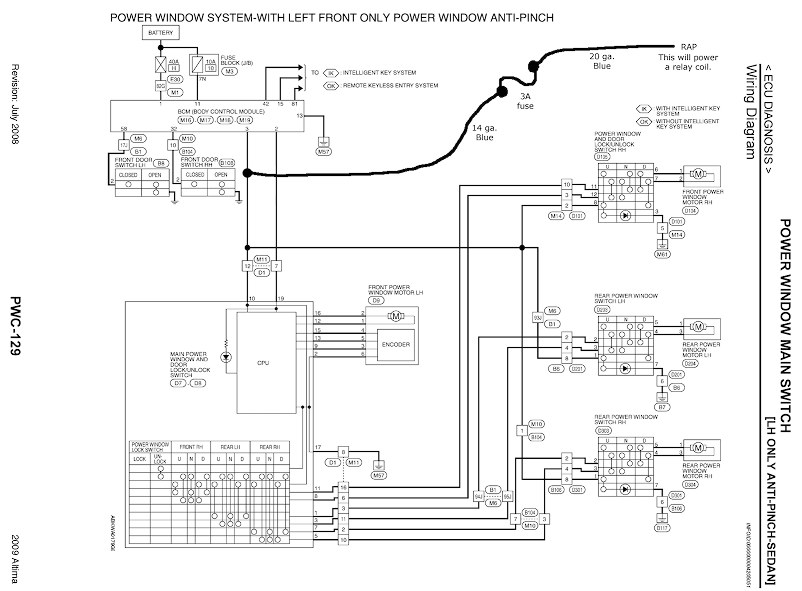 Stereo Wiring Diagram For 2012 Nissan Altima / 2012 Nissan