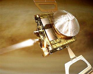 Hoofdmotor van Venus Express wordt ontstoken