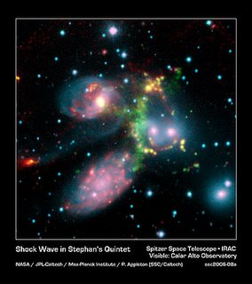 Enorme schokgolf in Stephan's Quintet