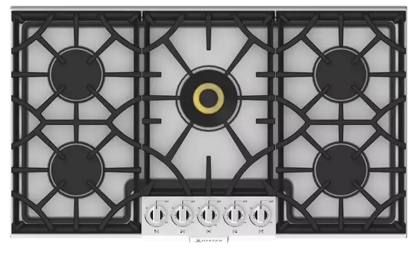 kitchen cooktops portable cart top rated 36 inch gas hestan cooktop kgc series