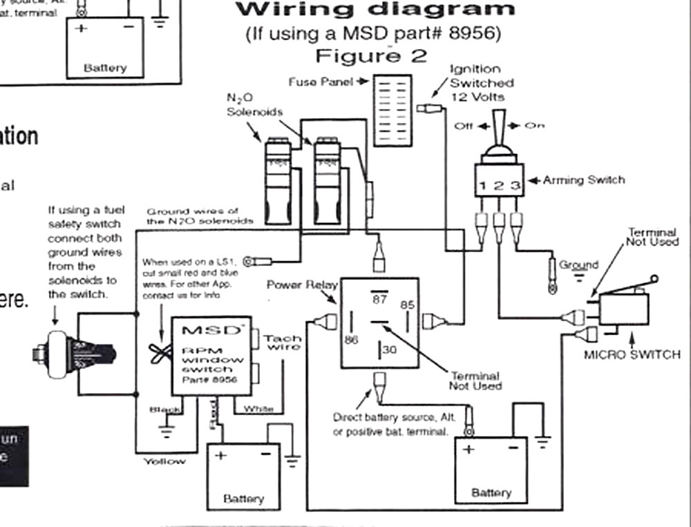 Zex Nitrous Wiring Diagram : 26 Wiring Diagram Images