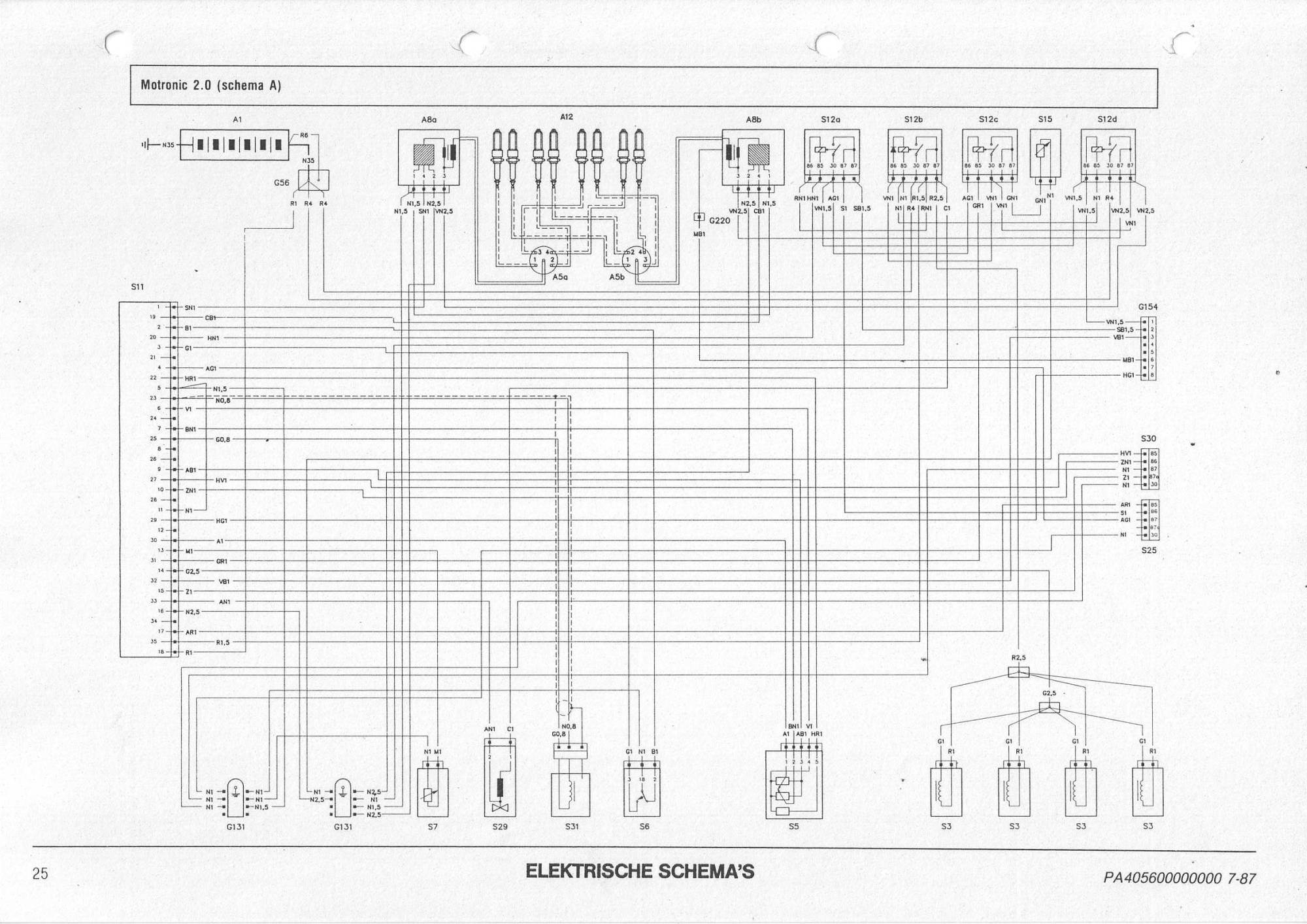 hight resolution of injectors won t open on my 164 ts alfa romeo bulletin board forums taurus alfa romeo 164 engine wiring diagram
