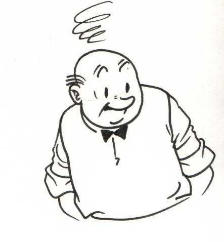 Originele tekeningen van Marc Verhaegen en Paul Geerts