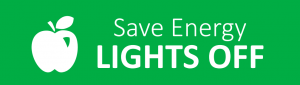 save energy lights off