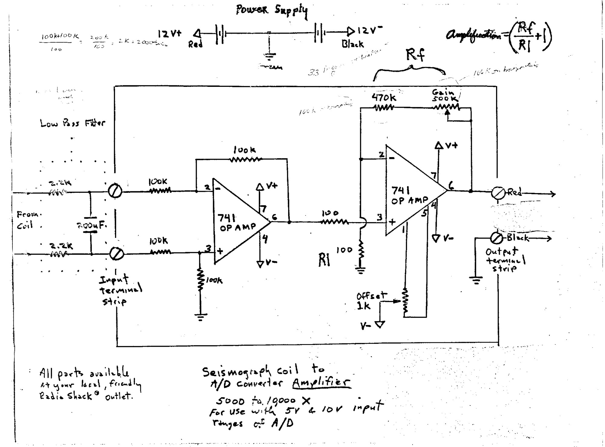 hight resolution of  based on the 741 op amp which is inexpensive and readily available at your local electronics store the one with the answers