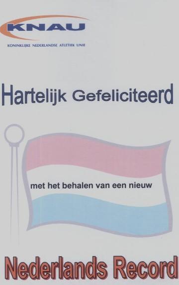Nederlands record