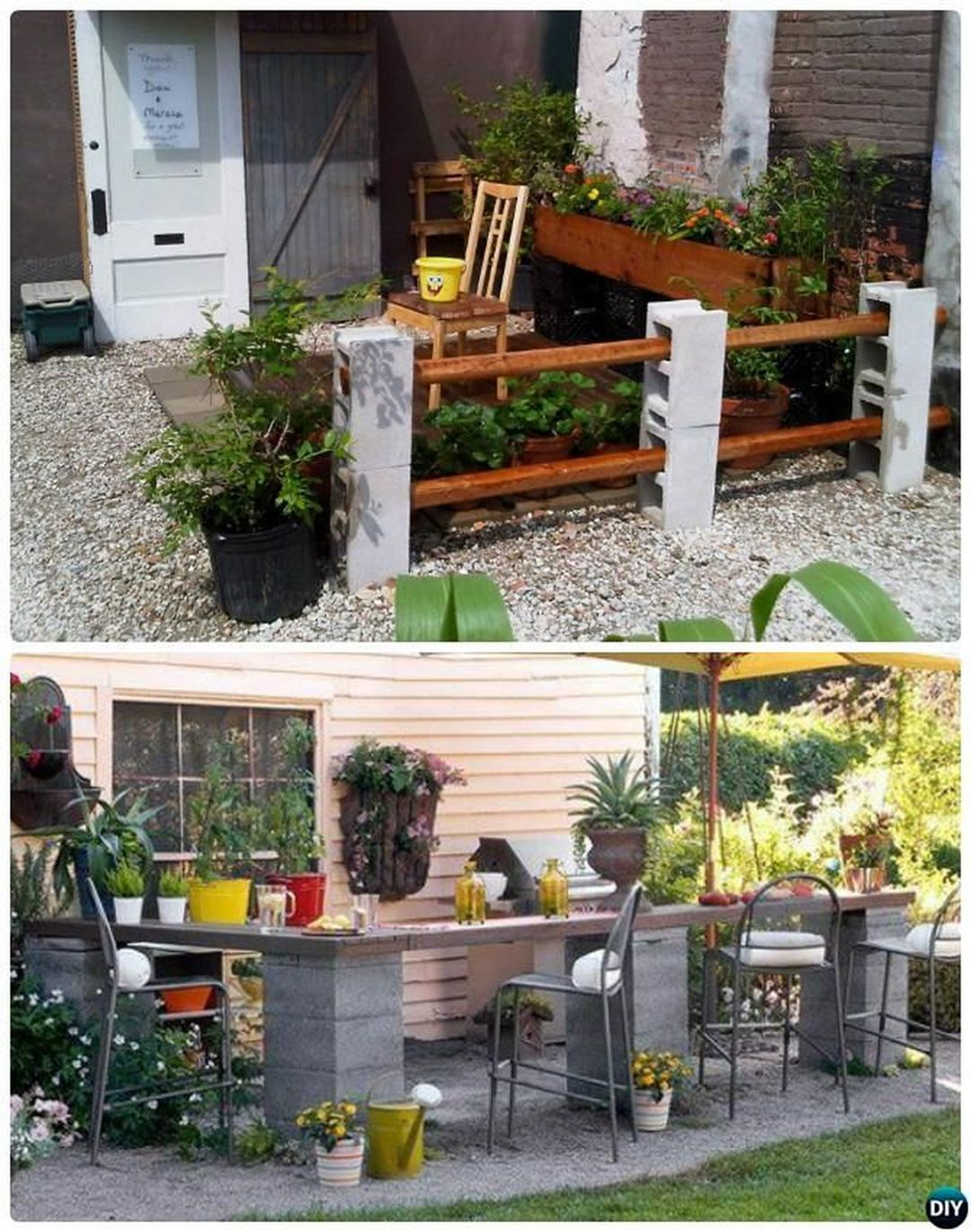 Easy And Inexpensive Cinder Block Garden Ideas 06400