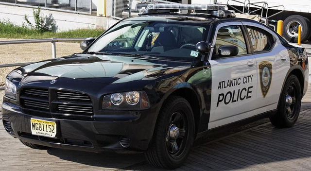 Atlanta City police cruiser