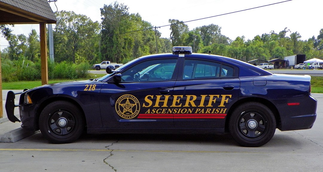 Ascension Parish Sheriff Cruiser