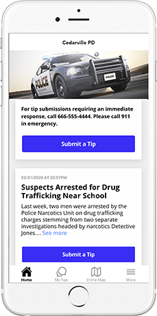 tip411 mobile app