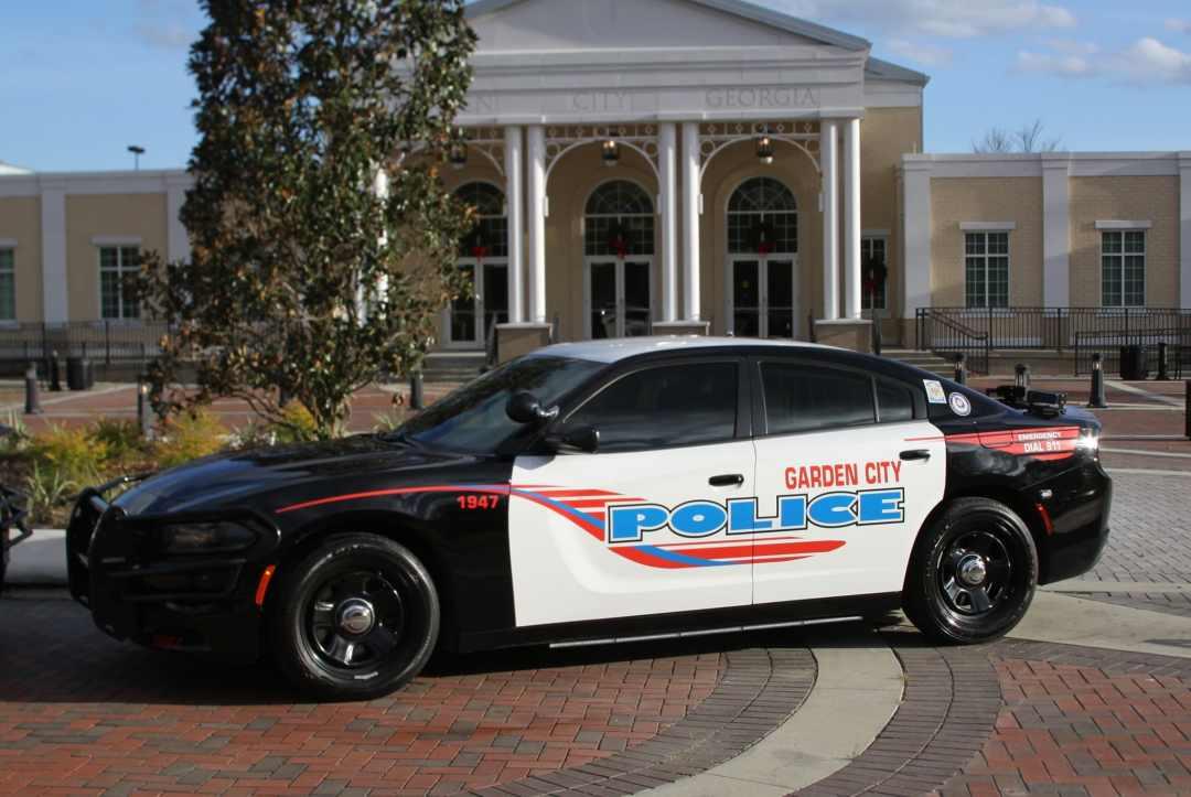 Garden City police cruiser