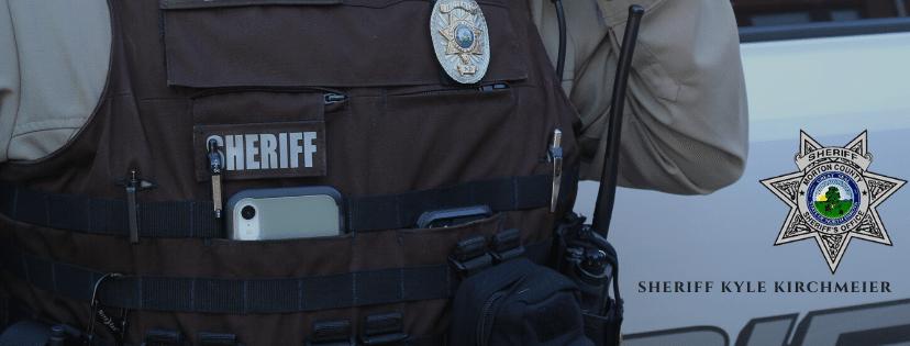 Sheriff Kyle Kirchmeier